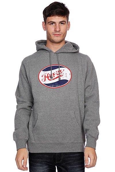 Кенгуру Huf Last Generation Pullover Gunmetal<br><br>Цвет: серый<br>Тип: Толстовка кенгуру<br>Возраст: Взрослый<br>Пол: Мужской