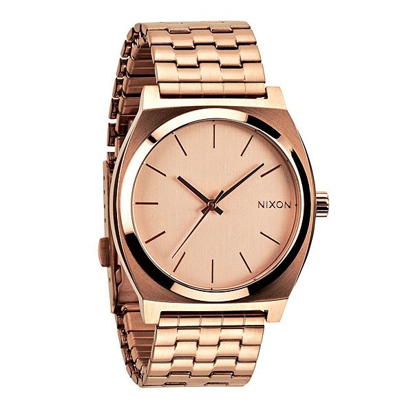 Часы Nixon Time Teller All Rose Gold часы nixon corporal ss gray rose gold
