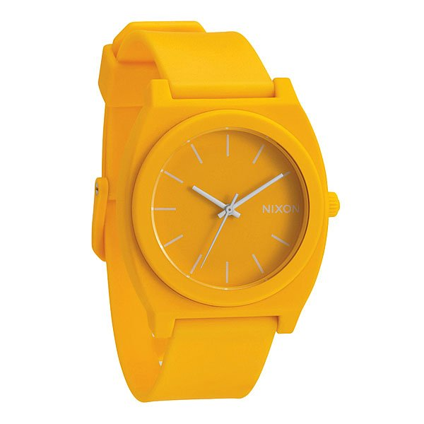 Часы Nixon Time Teller P Matte Yellow часы nixon corporal ss matte black industrial green