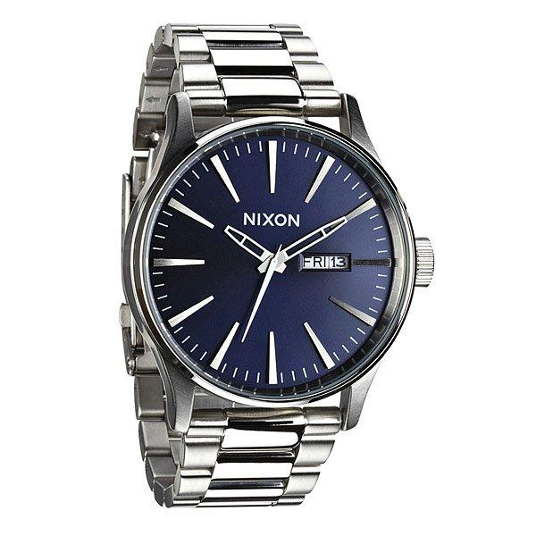 Часы Nixon Sentry Ss Blue Sunray часы nixon corporal ss matte black industrial green