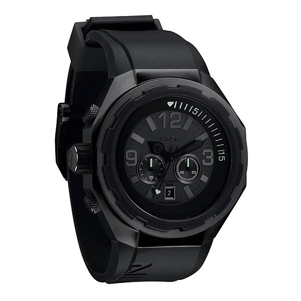 Часы Nixon Steelcat All Black Proskater.ru 16979.000