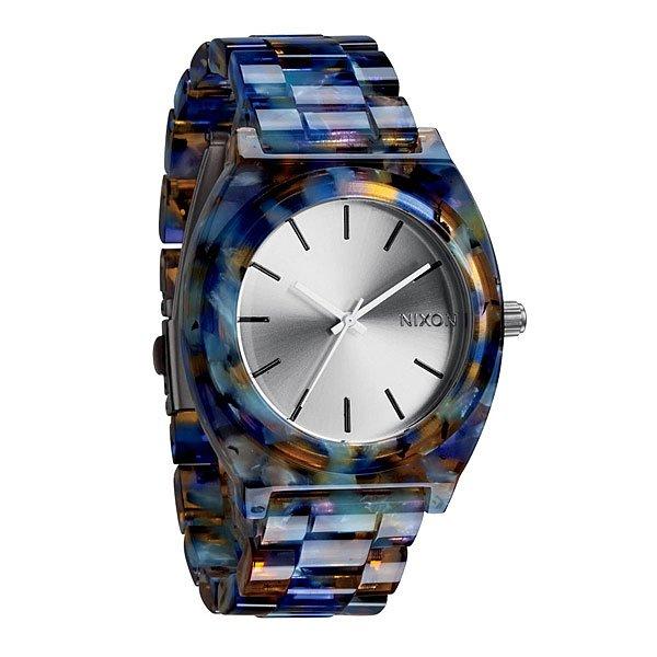 Часы Nixon Time Teller Acetate Watercolor Acetate поло fred perry fred perry fr006ewuid69