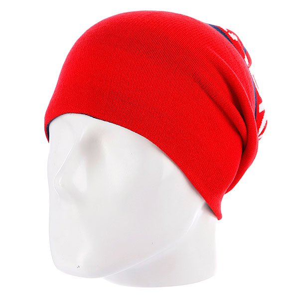 Шапка носок Neff Radical Red/Navy