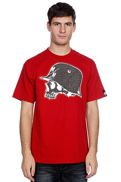 Футболка Metal Mulisha Grip Cardinal<br><br>Цвет: красный<br>Тип: Футболка<br>Возраст: Взрослый<br>Пол: Мужской