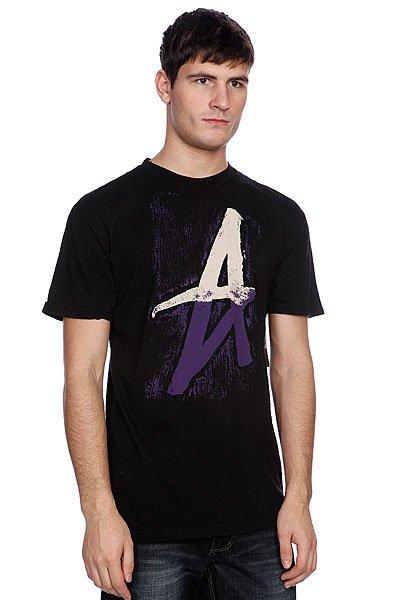 Футболка Altamont Stumpage S/S Tee Black<br><br>Цвет: черный<br>Тип: Футболка<br>Возраст: Взрослый<br>Пол: Мужской