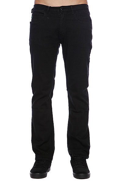 Штаны прямые Emerica Standard Issue 5Pkt Chino Black штаны прямые billabong new order chino khaki