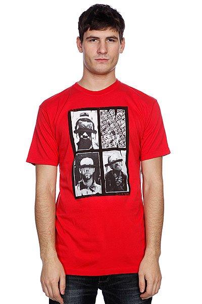 Футболка Altamont Sights S/Stee Red<br><br>Цвет: красный<br>Тип: Футболка<br>Возраст: Взрослый<br>Пол: Мужской