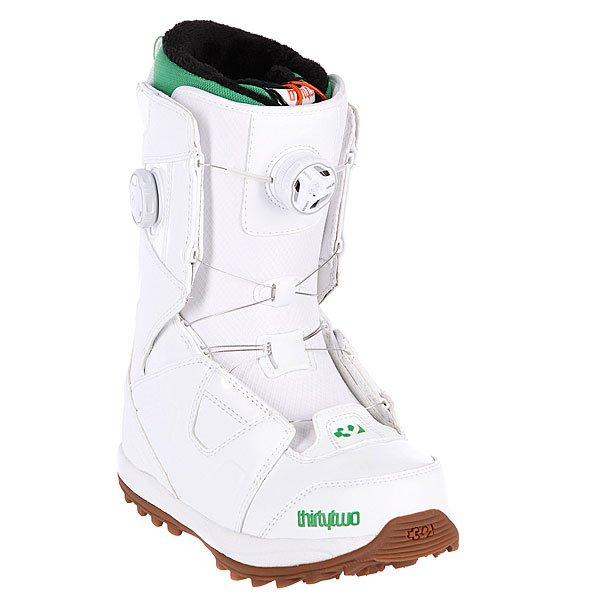 Ботинки для сноуборда женские Thirty Two Binary Boa White