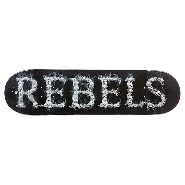 Дека для скейтборда для скейтборда Rebels Logo Skulls 32 x 8.25 (21 см)