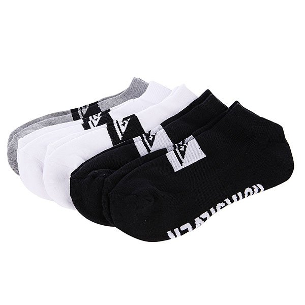 Носки Quiksilver Legacy Ankle 5Pk Assorted Proskater.ru 599.000
