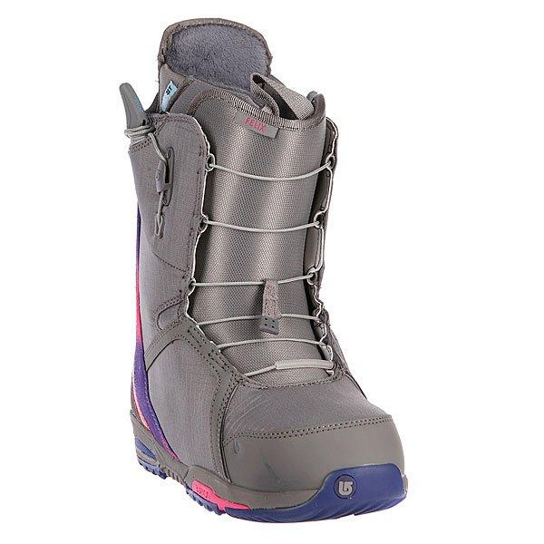 Ботинки для сноуборда женские Burton Felix Gray/Ak Multi