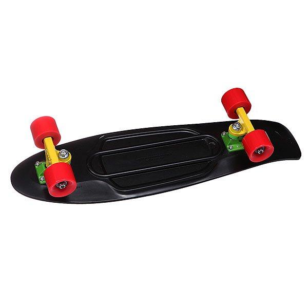 Скейт мини круизер Penny Nickel Rasta 27 (68.6 см) скейт мини круизер penny original 22 ltd shadow jungle 6 x 22 55 9 см