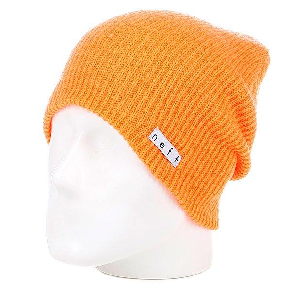 Шапка носок Neff Daily Orange шапка neff daily gold rod