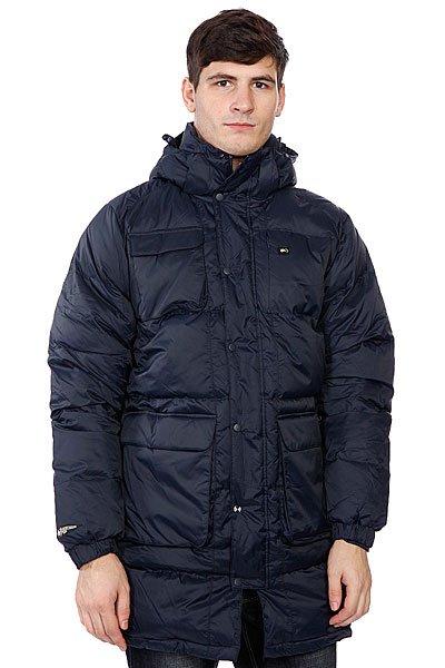 Куртка зимняя K1X 72 Down CoatТехнические характеристики: Верх из 100% полиамида. Внутренняя подкладка из флиса. Утеплитель - пух.  Застежка – молния по всей длине.  Эластичные манжеты на резинке. Фиксированный капюшон с утяжкой.  Два боковых прорезных кармана для рук.Внутренний потайной карман.Фасон – пуховик.<br><br>Цвет: синий<br>Тип: Куртка зимняя<br>Возраст: Взрослый<br>Пол: Мужской
