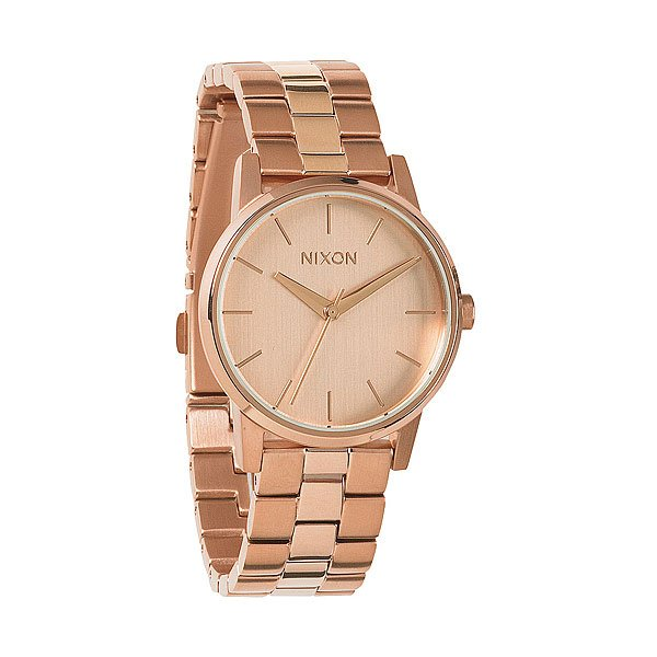 Часы женские Nixon Small Kensington All Rose Gold nixon часы nixon a099 710 коллекция kensington