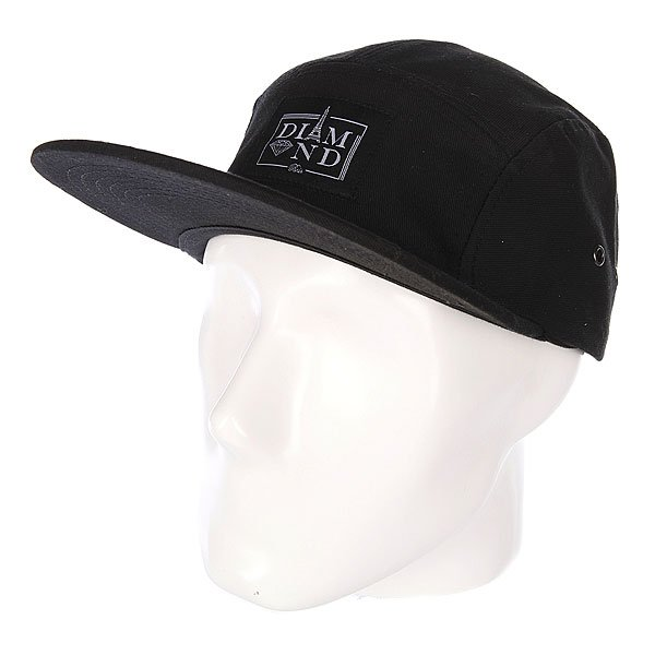 Бейсболка пятипанелька Diamond Paris 5 Panel Camp Hat Black коляска 3 в 1 hauck miami 4 trioset coffee capri