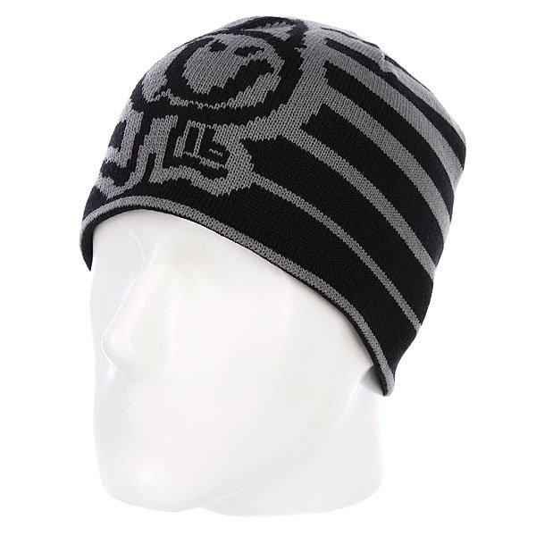Шапка Lib Tech Turner Beanie Grey - Подарок<br><br>Цвет: серый,черный<br>Тип: Шапка<br>Возраст: Взрослый<br>Пол: Мужской