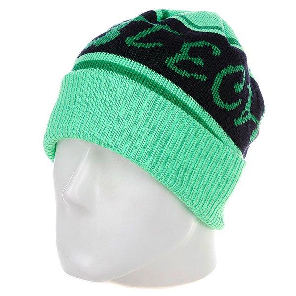 Шапка Lib Tech No Biggie Beanie Green - Подарок<br><br>Цвет: зеленый<br>Тип: Шапка<br>Возраст: Взрослый<br>Пол: Мужской