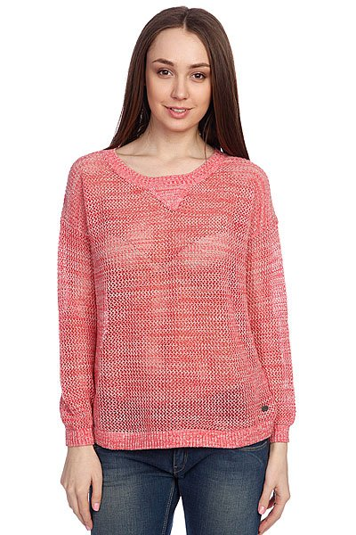 Свитер женский Roxy Pink Blazing Washed Red