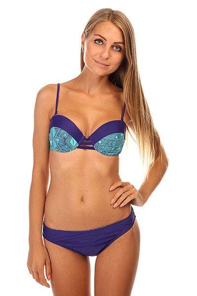 Купальник женский Roxy Bustia Sweetheart Pant Deep Blue<br><br>Цвет: зеленый,фиолетовый<br>Тип: Купальник<br>Возраст: Взрослый<br>Пол: Женский