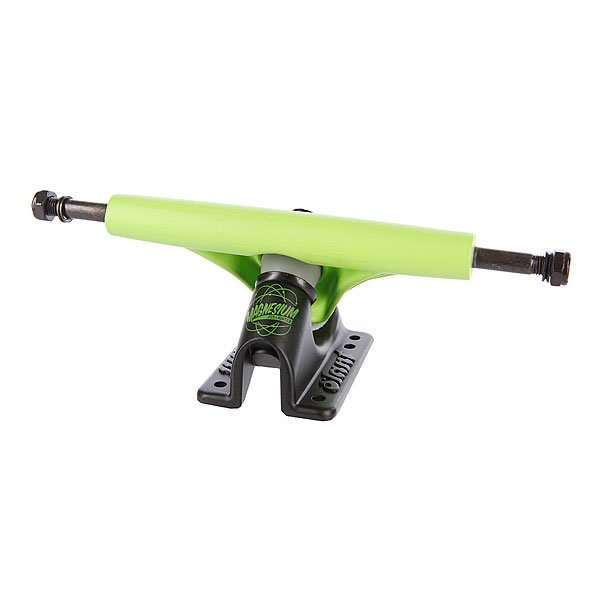Подвеска для лонгборда 1шт. Slant Magnesium Inverted Truck Fluorescent Green/Black 150mm 8.6 (21.8 см)