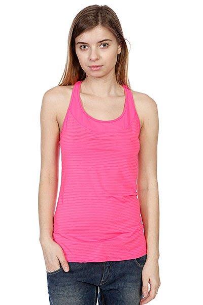 Майка женская Roxy Hello Sunshine Of Tropical Pink<br><br>Цвет: розовый<br>Тип: Майка<br>Возраст: Взрослый<br>Пол: Женский