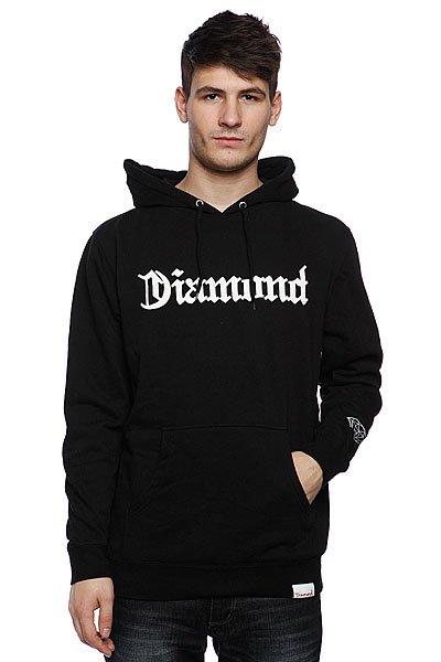 Кенгуру Diamond Diamond4life Hoody Black<br><br>Цвет: черный<br>Тип: Толстовка кенгуру<br>Возраст: Взрослый<br>Пол: Мужской