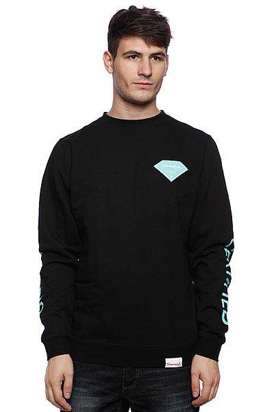 Свитшот Diamond Certified Crew Neck Black<br><br>Цвет: черный<br>Тип: Толстовка свитшот<br>Возраст: Взрослый<br>Пол: Мужской