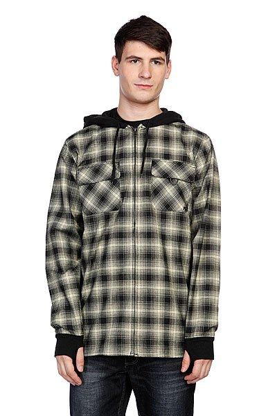 Рубашка утепленная Analog Integrate Fog<br><br>Цвет: бежевый,черный<br>Тип: Рубашка утепленная<br>Возраст: Взрослый<br>Пол: Мужской