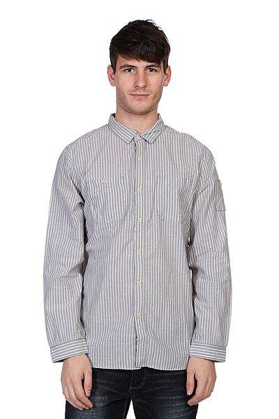 Рубашка Converse Stripe Grey<br><br>Цвет: серый<br>Тип: Рубашка<br>Возраст: Взрослый<br>Пол: Мужской