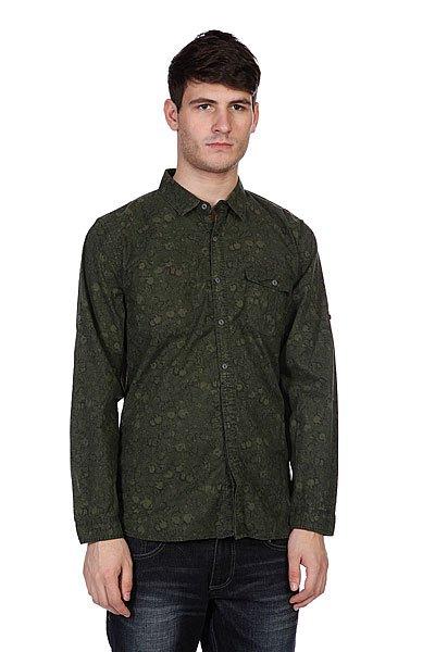 Рубашка Converse Ornament Green