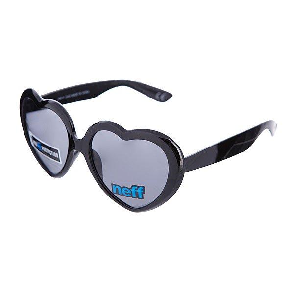 Очки Neff Luv Black100% пластиковая оправа с акриловыми линзами<br><br>Цвет: черный<br>Тип: Очки<br>Возраст: Взрослый<br>Пол: Мужской