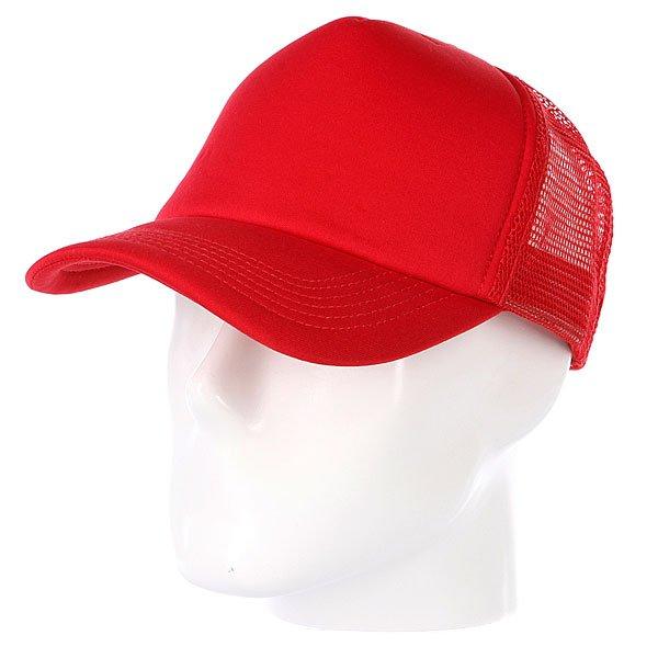 Бейсболка с сеткой True Spin Basic Trucker Red<br><br>Цвет: красный<br>Тип: Бейсболка с сеткой<br>Возраст: Взрослый<br>Пол: Мужской