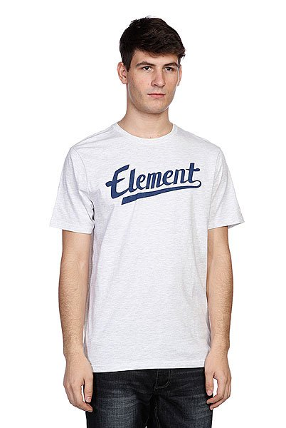 Футболка Element Signature Ss Ash футболка element vertical ss ash