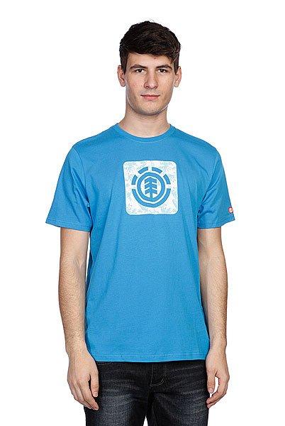 Футболка Element Tropical Thunder Ss Swedish Blue<br><br>Цвет: голубой<br>Тип: Футболка<br>Возраст: Взрослый<br>Пол: Мужской