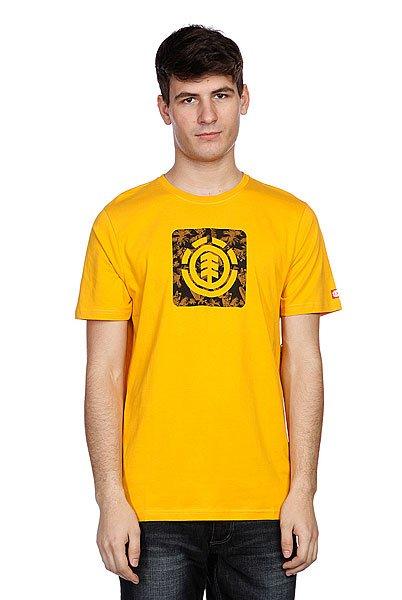 Футболка Element Tropical Thunder Ss Goldenrod<br><br>Цвет: желтый<br>Тип: Футболка<br>Возраст: Взрослый<br>Пол: Мужской