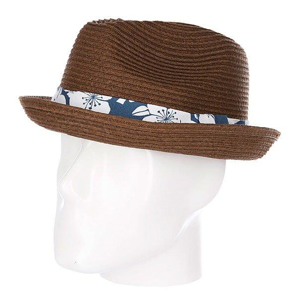 Шляпа Rip Curl Aloha Fedora BrownКлассика пляжной моды в сочетании с фирменным серферским стилемлюбимого бренда Rip Curl. Надежно защитит от солнца и прекрасно дополнит Ваш образ!Характеристики:Женская шляпа. Плетеный дизайн.Широкие поля. Лента с металлическим значкомRip Curl.<br><br>Цвет: коричневый<br>Тип: Шляпа<br>Возраст: Взрослый<br>Пол: Мужской