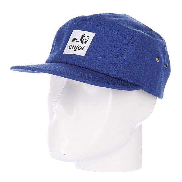 Бейсболка пятипанелька Enjoi Unoriginal Royal<br><br>Цвет: синий<br>Тип: Бейсболка пятипанелька<br>Возраст: Взрослый<br>Пол: Мужской