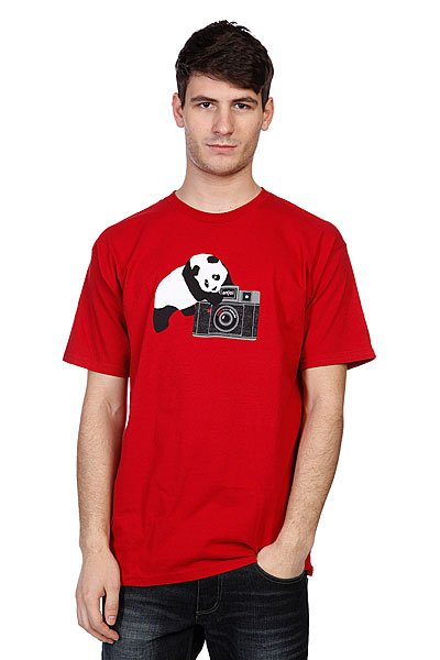 Футболка Enjoi Camera Panda Cardinal Red
