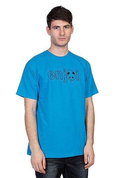 Футболка Enjoi Headvetica Turquoise<br><br>Цвет: синий<br>Тип: Футболка<br>Возраст: Взрослый<br>Пол: Мужской