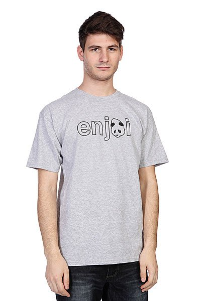 Футболка Enjoi Headvetica Athletic Heather футболка enjoi outlines purple