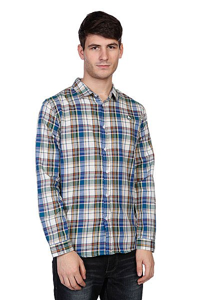 Рубашка в клетку Enjoi The Rad Plaid Multi рубашка утепленная enjoi not bad plaid turquoise