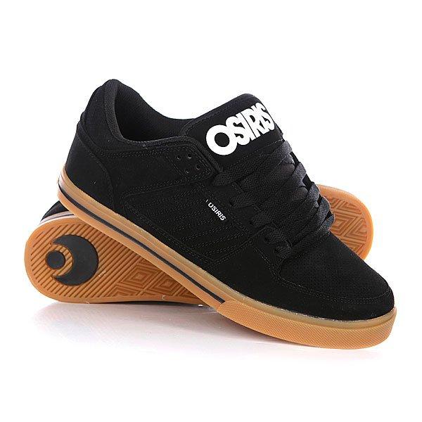 Кеды кроссовки Osiris Protocol Black/White/Gum цены онлайн