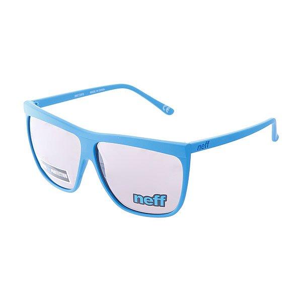Очки Neff Brow Cyan100% пластиковая оправа с акриловыми линзами<br><br>Цвет: голубой<br>Тип: Очки<br>Возраст: Взрослый<br>Пол: Мужской
