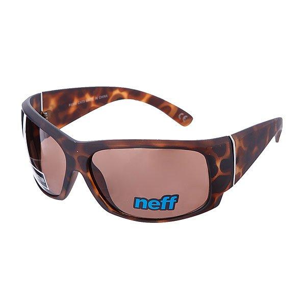 Очки Neff Cykle Tortoise100% пластиковая оправа с акриловыми линзами<br><br>Цвет: коричневый<br>Тип: Очки<br>Возраст: Взрослый<br>Пол: Мужской