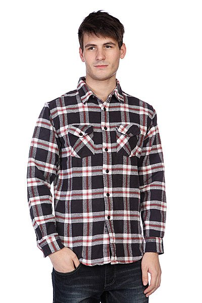 Рубашка утепленная Matix Lendell Flannel Black Proskater.ru 3360.000