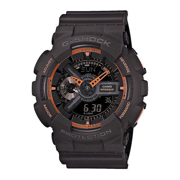 Часы Casio G-Shock Ga-110TS-1A4Автоматическая светодиодная подсветка.  Ударопрочная конструкция защищает от ударов и вибрации.  Ремешок из полимерного материала.  Жесткое минеральное стекло, устойчивое к царапанью.  Устойчивость к воздействию магнитных полей.  Секундомер, время измерения 100 ч. Таймер с функцией автоповтора, время измерения 24 ч.  Будильник с 5-ю установками, ежечасный сигнал. Формат времени 12/24. Мировое время.  Полностью автоматический календарь, учитываются месяцы разной продолжительности и високосные годы.  Срок службы батареи 2 года.  Водонепроницаемость 20 атм. WR 200  Размер корпуса 55 x 51,2 x 16,9 мм.<br><br>Тип: Кварцевые часы<br>Возраст: Взрослый<br>Пол: Мужской