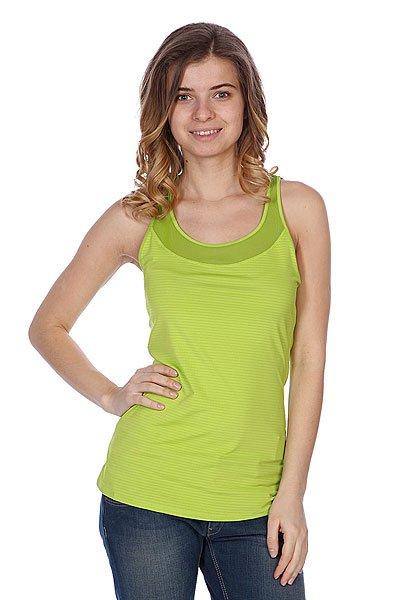 Майка женская Roxy Hello Sunshine Of Neon Lime<br><br>Цвет: зеленый<br>Тип: Майка<br>Возраст: Взрослый<br>Пол: Женский