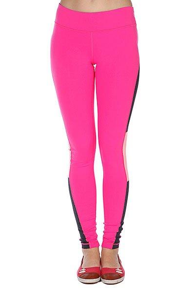 Леггинсы женские Roxy Standard Tight Of Tropical Pink