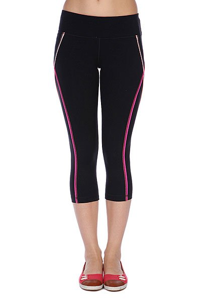 Леггинсы женские Roxy Excel Capri Of True Black Proskater.ru 1349.000